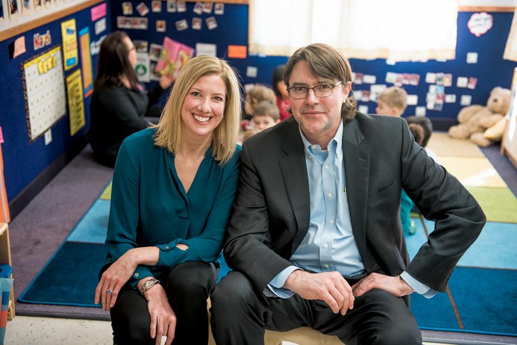 Stephanie Carlson and Phil Zelazo