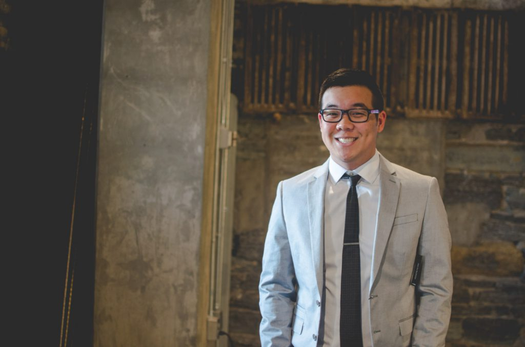 Undergraduate Brian Ung is preparing to be a leader for others in his shoes
