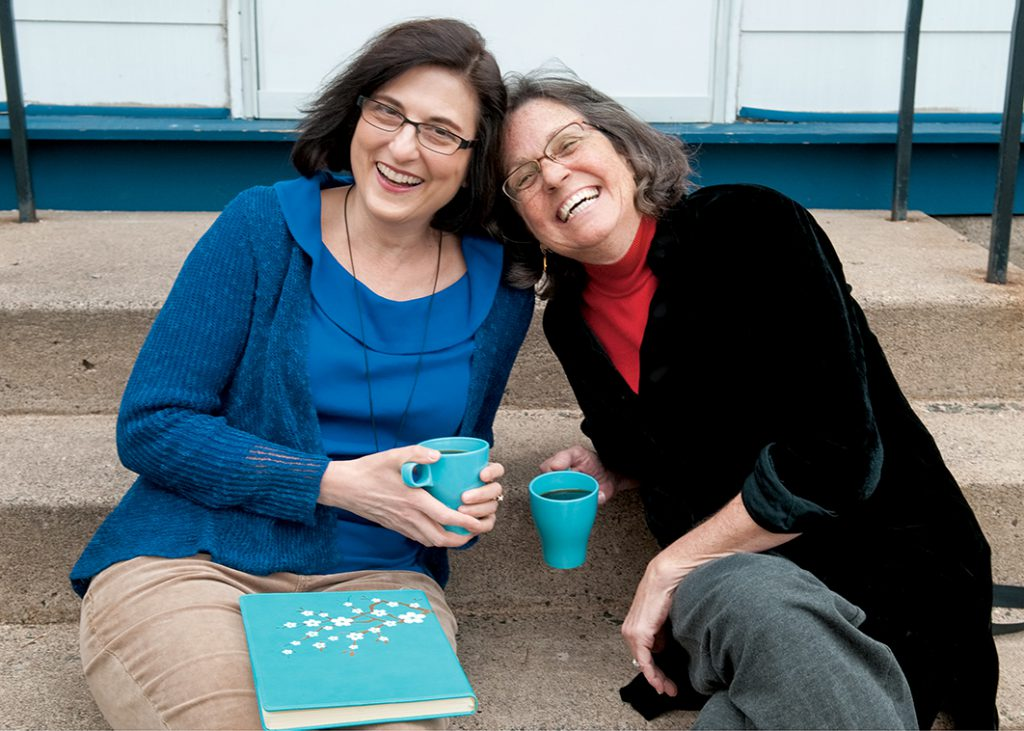 Gratitude is mutual between social work faculty member Amy Krentzman and community partner Jennifer Diederich, who are collaborating to support people in recovery from substance use disorders.