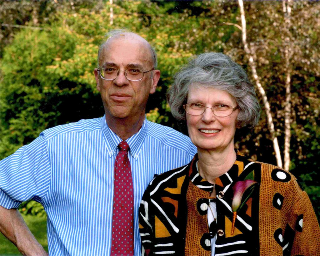 Photograph of Marvin and Jean Bauer