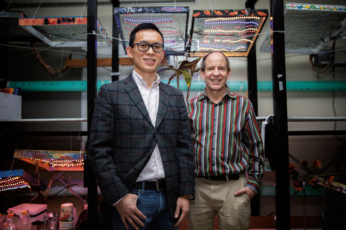 Photo of Bodong Chen and David Groos