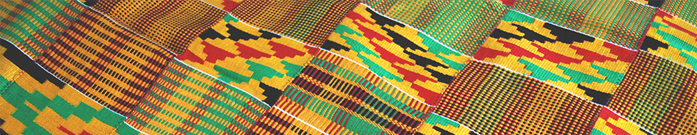 Detail of Kente cloth