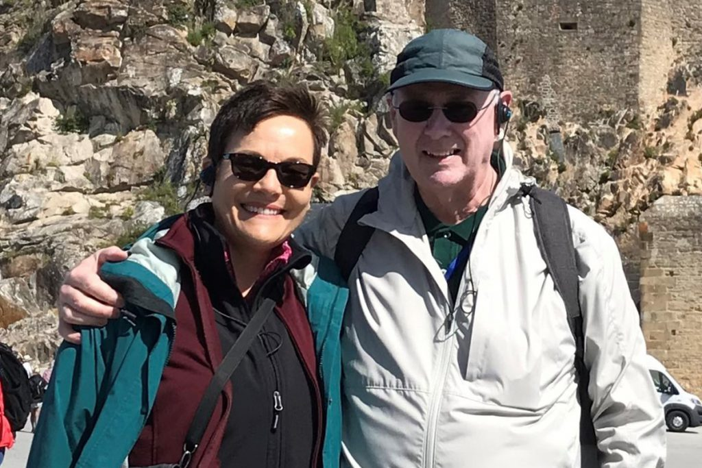 Jennifer Marrone and David Short