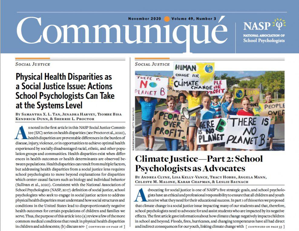 Communique Newspaper Front Page