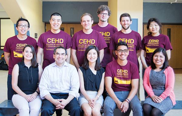 Michael C. Rodriguez and several graduate students