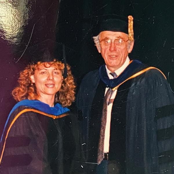 Dean William Gardner and Dr. Crystal Meriwether