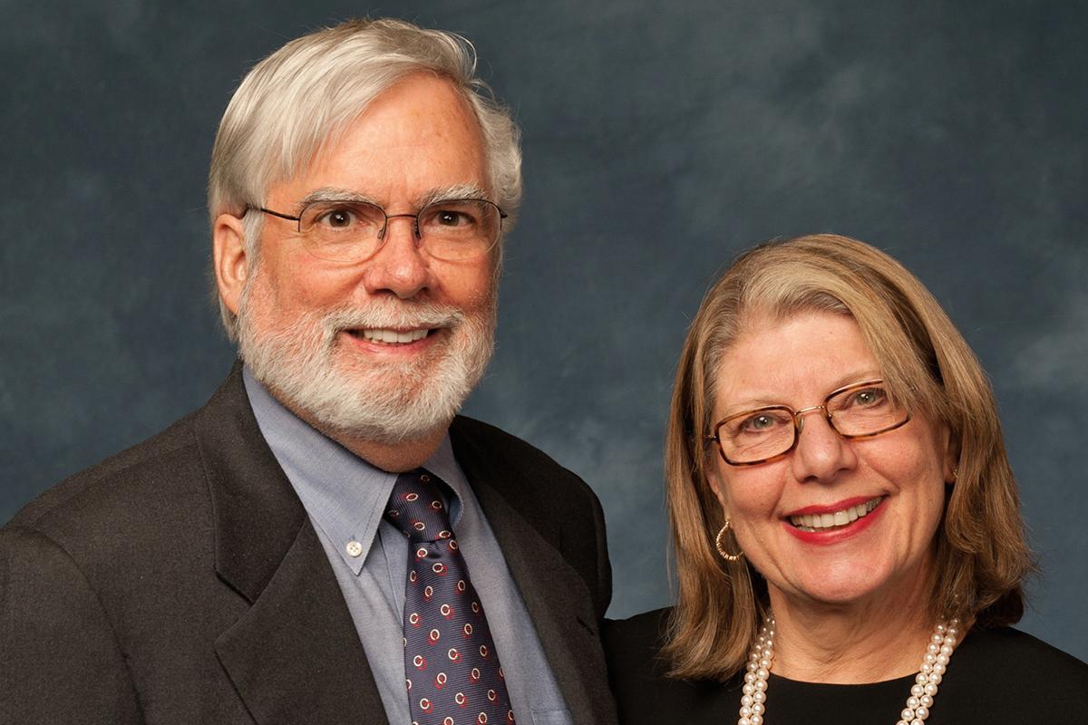Warren Woessner and Iris Freeman